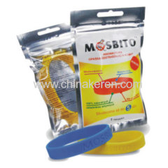 Good quality long lasting silicone anti mosquito band