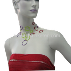 Hot selling Soft PVC Necklace