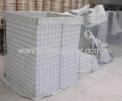 welded mesh barrier instead of sandbags