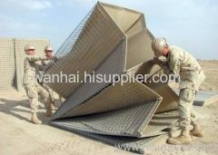 Barriera militare è costituita da rete elettrosaldata pannello