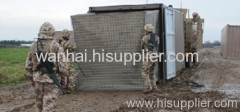 Hesco Barrier welded wire mesh Container