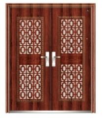 wood security door