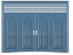wood security doors