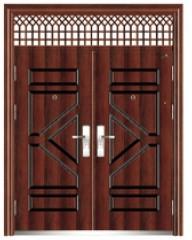 metal front doors