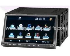 7 Inch Two Din Car DVD Player with GPS and Dual Function