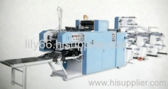Continuous Security Envelope collating and gluing machine
