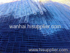 powder coated welded mesh panel