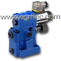 Rexroth DBW10 5X Pilot Operated Pressure Adjustment Relief Valves DIN 24340 Porting Pattern