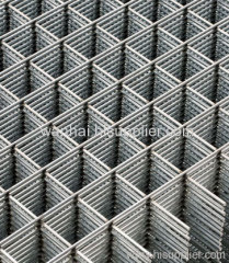 black wire welded mesh Plate