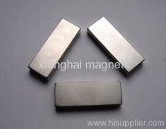 Neodymium Block Magnets planted Nickle block Rear Earth N35-N52,M,H,SH,UH,EH,AH