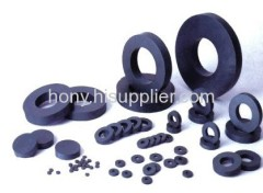 antisotropic ferrite speaker ring magnets