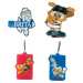 news soft PVC Keychain for promotion gifts