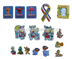 2013 Promotional soft PVC magnet with custom design