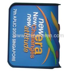 Custom rubber luggage tag