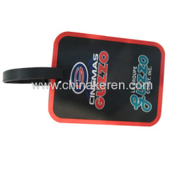 soft pvc promotion luggage tags