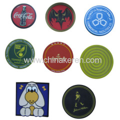 hot sell soft PVC Coaster for promotion