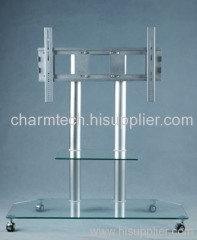 Clear Glass Plasma TV Stands