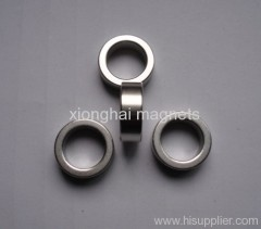 Nickle planted ring Neodymium magnet Rare Earth N35-N52,M,H,SH,UH,EH,AH
