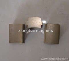 China manufacturer and exporter NdFeB Irregular Rare Earth Magnet Grade N48