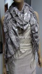 viscose elastic scarf with rulex
