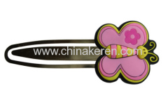 soft PVC flower Butterfly Bookmark