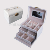 Travel Jewelry Box/croco leather jewelry case