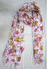 viscose printed scarf