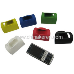 2d soft pvc mobile phone holder