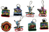 2013 Hot custom soft pvc zipper pulls from factory