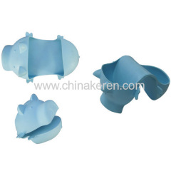 High temperature silicone rubber gloves, silicon glove