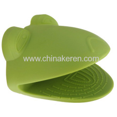 Heat resistant anti skid Frog shaped Silicone glove