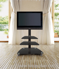 Fashion Iron Tube LCD TV Stand