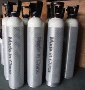 10L Oxygen Cylinder In Aluminum