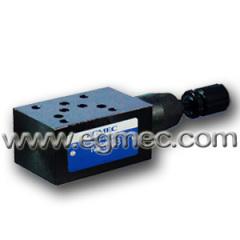 Yuken MRV03 Modular Pressure Relief Valve
