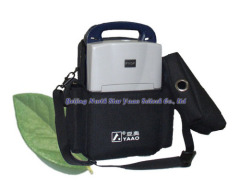 Portable medical oxygen concentrator