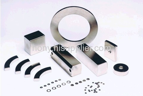 permanent sintered ndfeb ring magnets