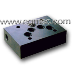 D05, SB10B Rexroth Valve BSPP Or NPT Porting Connection Subplate