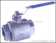 2 PC Stainless Steel Ball Valve
