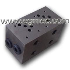 Carbon Steel Hydraulic Valve Parker Manifold Block