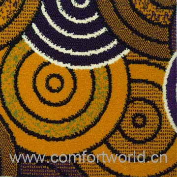 Tufted Polyester Carpet Fabric