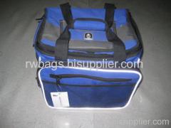 Blue cooler bag