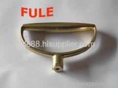 Precision casting for good quality brass handle part with thread