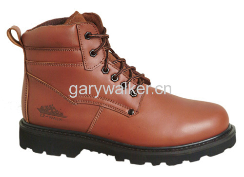 Full Leather Safety Shoes Meets Chilean Standards