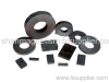 Bonded ferrite magnets