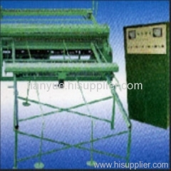 automatic welded wire mesh machinery