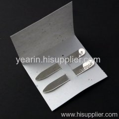 Stainless Steel Collar Stays,Metal Collar Stays
