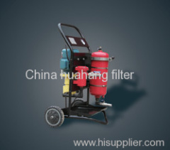 LYC-A type portable high-accuracy oil purifier series