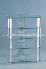 Clear Tempered Glass LCD Stands