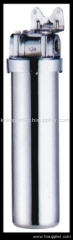 single stainless steel water filter
