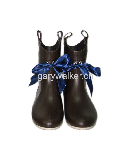 Ladies' Fashion PVC Boots